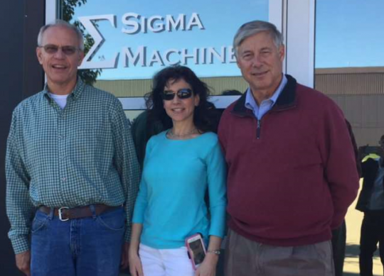 Fred Upton Visits Sigma Machine
